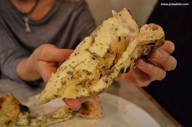 Santa Maria pizzeria Ealing Focaccia fetta