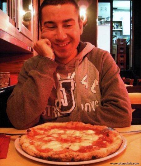 Giuseppe A. D'Angelo pizza blogger