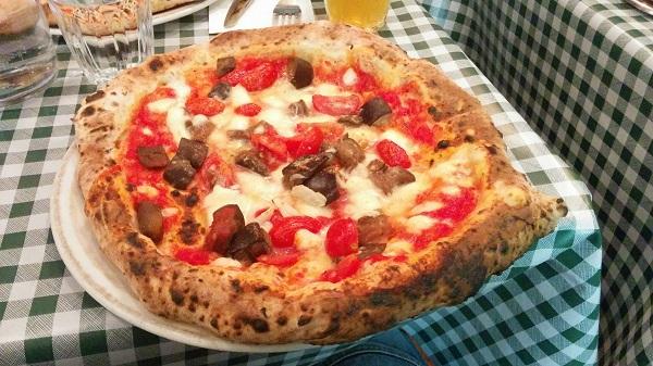 Pizza Pilgrims Aubergine Parmigiana