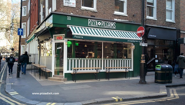 Pizza Pilgrims Dean Street Soho