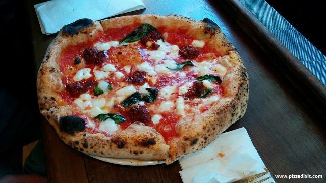 Pizza Pilgrims pizza con 'nduja