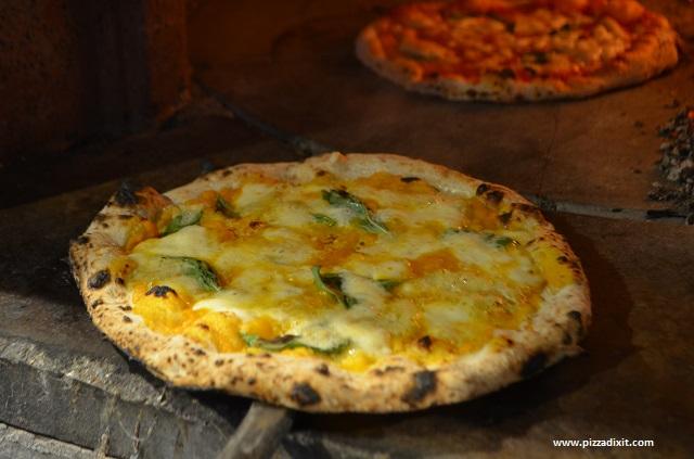 Sud Italia pizza con la zucca