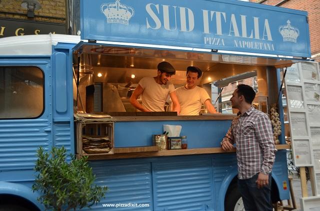 Sud Italia pizzeria furgone