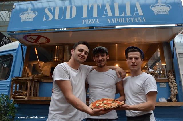 Sud Italia pizzeria lo staff