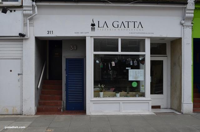 Pizzeria La Gatta, dove si trova