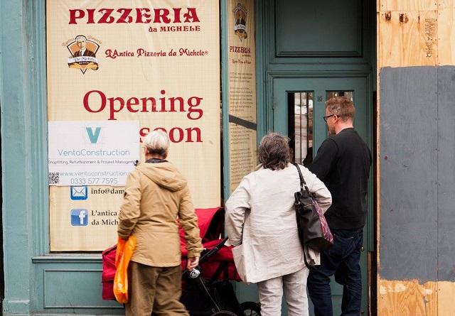 Pizzeria Da Michele Londra