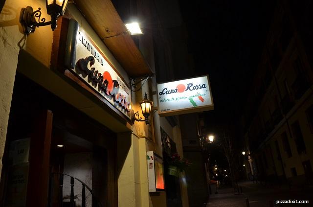 Pizzeria Luna Rossa Madrid Calle de la Luna