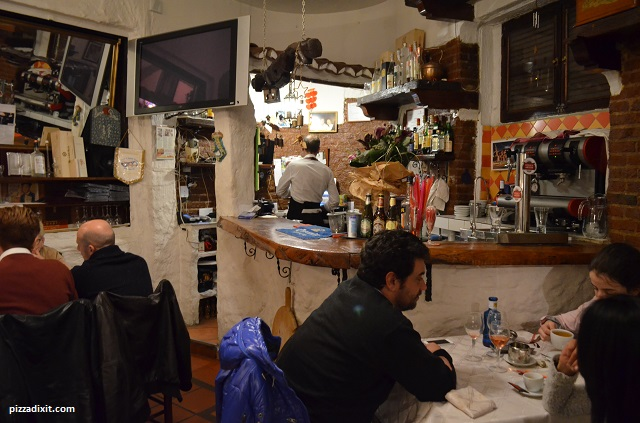 Pizzeria Luna Rossa migliore pizza napoletana di Madrid