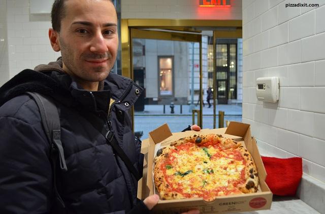 Pizzeria Neapolitan Express, dimensioni pizza
