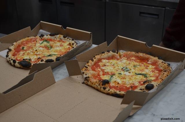 Pizzeria Neapolitan Express, pizze