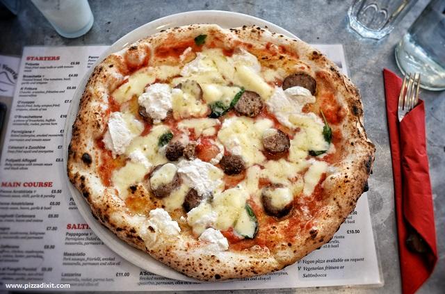 Figli del Vesuvio Londra pizza Polpettona