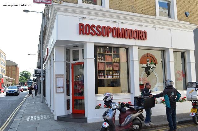 Rossopomodoro Chelsea pizzeria