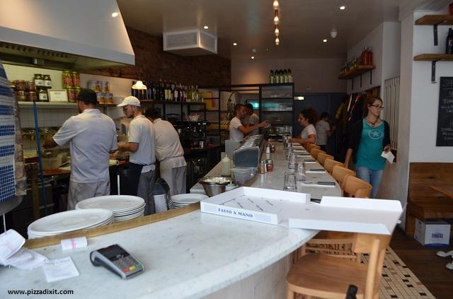 Fatto a Mano pizzeria Brighton ristorante