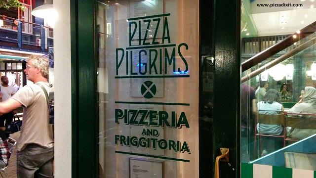 Pizza Pilgrims ingresso pizzeria