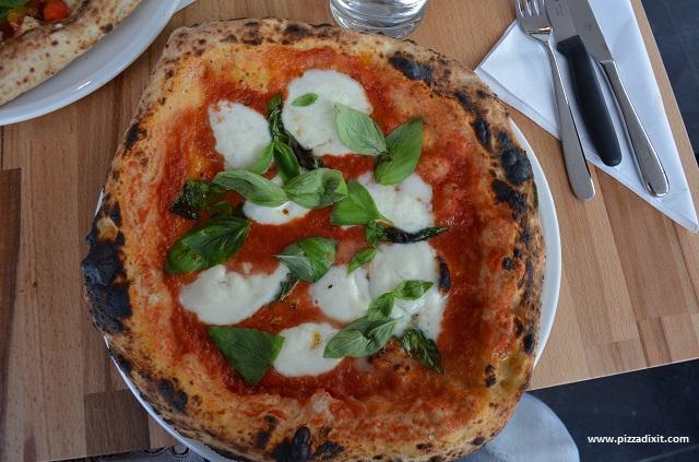 Pizzeria Melisi, Margherita con bufala