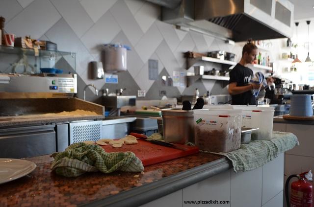 Pizzeria Melisi, la cucina