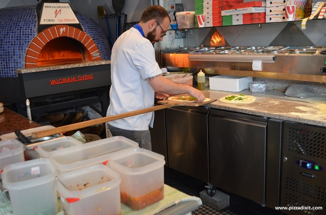 Pizzeria Melisi, pizzaiolo Matteo Corso