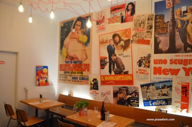 Antica Pizzeria Nennillo, Severinswall