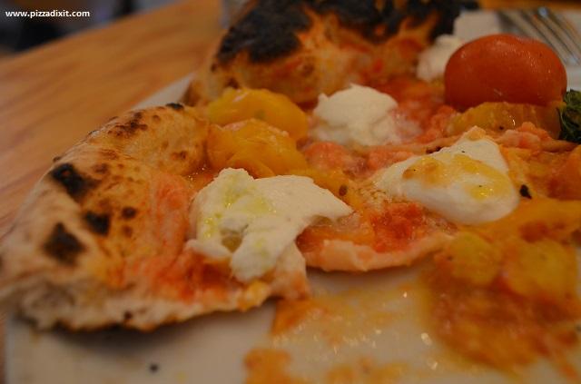 Antica Pizzeria Nennillo, ingredienti campani