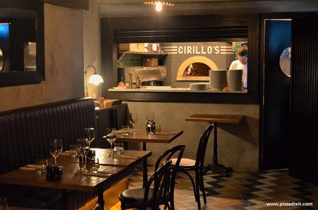 Cirillo pizzeria Dublino forno a legna