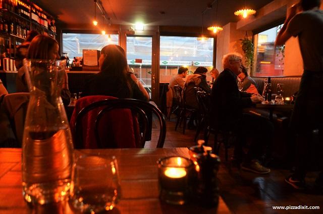 Cirillo pizzeria Dublino interno locale