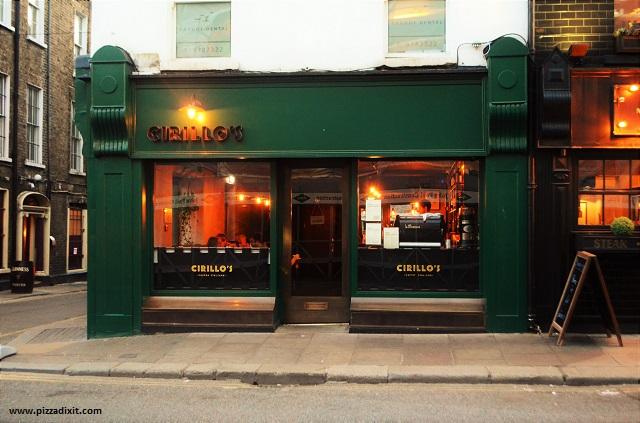 Cirillo pizzeria Dublino