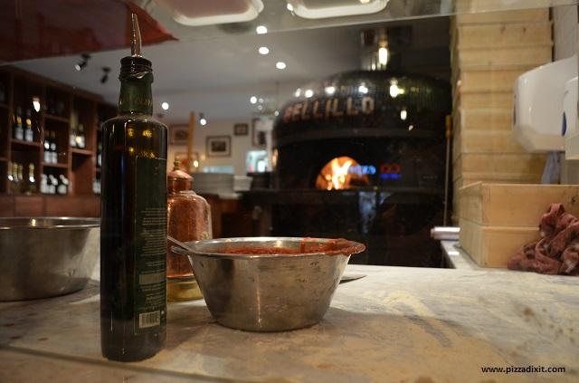 Pizzeria Bellillo forno a legna