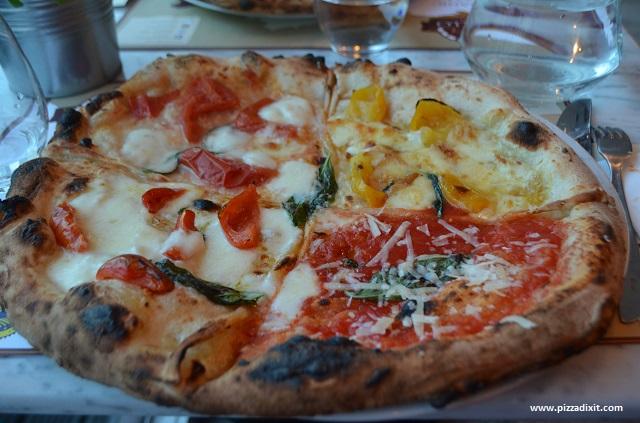 Pizzeria Bellillo pizza Quattro Pomodori