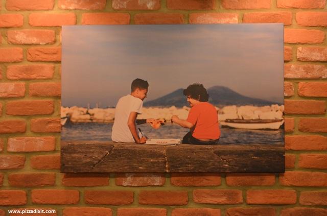 Pizzeria Bellillo quadro Napoli