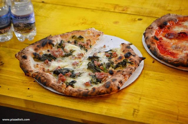 Fresco Mercato Metropolitano pizza salsiccia e friarielli