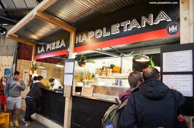 Fresco Mercato Metropolitano stand pizza