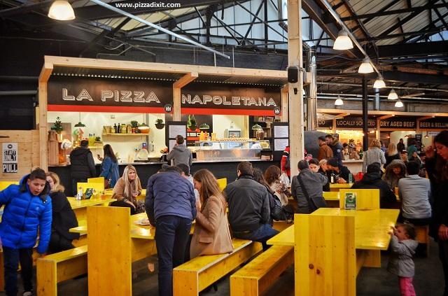 Fresco pizzeria Mercato Metropolitano Londra