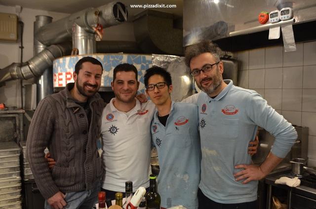 Peppe Napoli sta cca Tokyo Peppe e pizzaioli