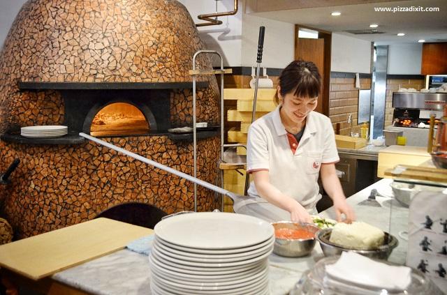 Pizzeria Ca Po Li Tokyo pizzaiola