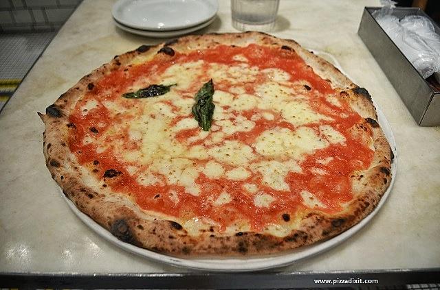Antica Pizzeria Da Michele Tokyo Margherita doppia mozzarella