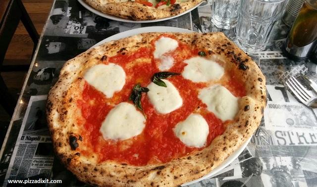 Bravi Ragazzi, Streatham, pizza Bufalina