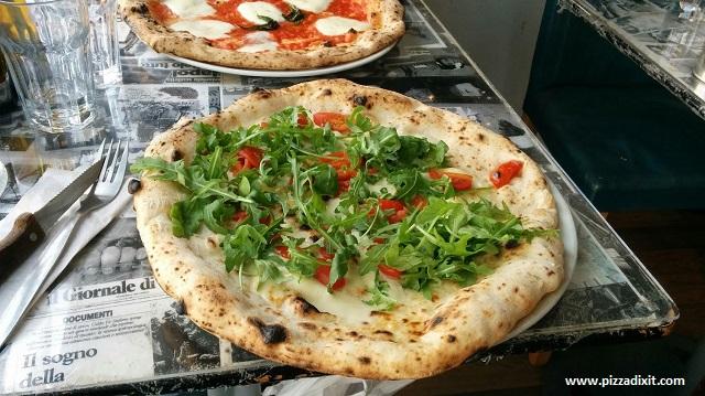 Bravi Ragazzi, Streatham, pizza Provolina