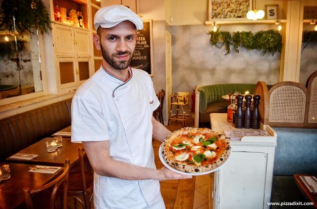 Pizzeria Simonetta Parigi, pizza di Cristian Molino