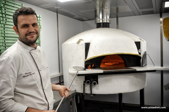 Lievità Londra pizzaiolo Giorgio Caruso