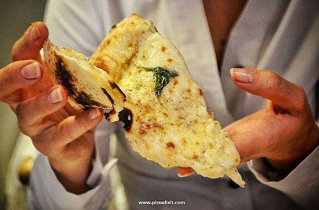 Pizzeria da Mariano Hammersmith fetta di pizza