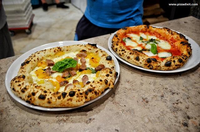Pizzeria Da Pietro, Plzen, Casertana e Bufalina