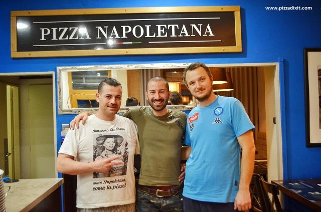 Pizzeria Da Pietro, Plzen, Sabatino Volino e Petr Soukal