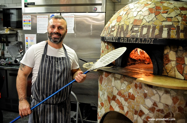 Made in South Clapham pizzeria Antonio Sarnelli pizzaiolo