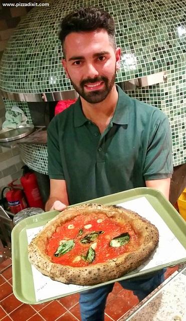 Purezza Londra Camden Town Filippo Rosato pizzaiolo