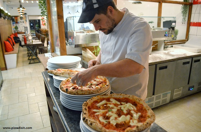 Tomatino's Thornton Heath Mario Ursano pizzaiolo napoletano