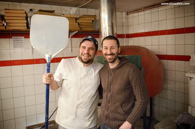 Tomatino's Thornton Heath Pizza DIXIT e Mario Ursano