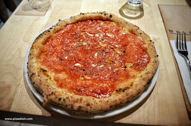 Nolio pizzeria Cracovia, pizza Marinara