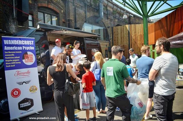 Wandercrust London Pizza Festival