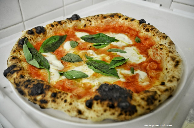 Wandercrust pizza London Margherita