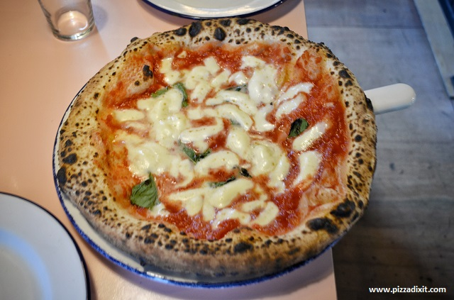Ply, Manchester pizza Margherita